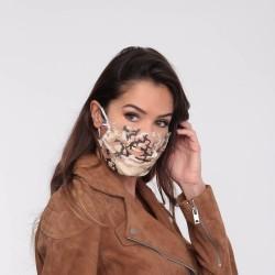 Masque barrière motifs 27 - lavable et réutilisable 50 lavages - Adultes - Catégorie 1
