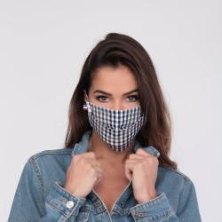 Masque barrière motifs 3 - lavable et réutilisable 50 lavages - Adultes - Catégorie 1