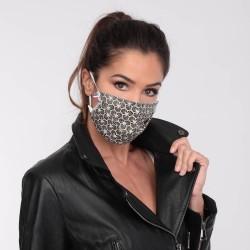 Masque barrière motifs 10 - lavable et réutilisable 50 lavages - Adultes - Catégorie 1