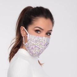 Masque barrière motifs 11 - lavable et réutilisable 50 lavages - Adultes - Catégorie 1