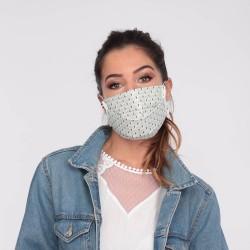 Masque barrière motifs 16 - lavable et réutilisable 50 lavages - Adultes - Catégorie 1