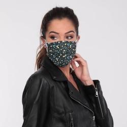 Masque barrière motifs 13 - lavable et réutilisable 50 lavages - Adultes - Catégorie 1