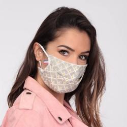 Masque barrière motifs 24 - lavable et réutilisable 50 lavages - Adultes - Catégorie 1