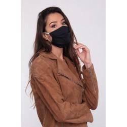 Masque barrière bleu motifs 28 - lavable et réutilisable 50 lavages - Adultes - Catégorie 1