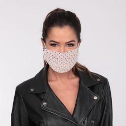 Masque barrière motifs 5 - lavable et réutilisable 50 lavages - Adultes - Catégorie 1