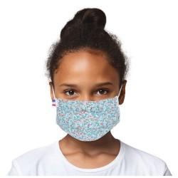 Masque barrière enfant motifs 34 - lavable et réutilisable 50 lavages - Catégorie 1