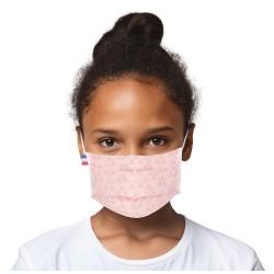 Masque barrière enfant motifs 35 - lavable et réutilisable 50 lavages - Catégorie 1