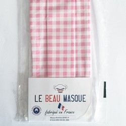 Masque barrière motifs 21 - lavable et réutilisable 50 lavages - Adultes - Catégorie 1