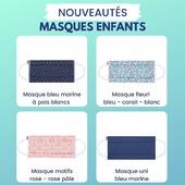 NEW IN !  Nos nouveaux masques enfants sont disponibles ici ➡ https://www.lebeaumasque.fr/15-masques-enfants Et ils sont BEAUX 🤩 Foncez ! 😊  #masques #tissu #protection #nouveautés #new #motifs #couleurs #enfants #livraisongratuite #promo