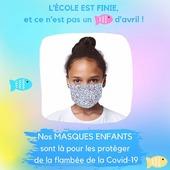 Le virus est en forte augmentation chez les 0-14 ans😣  Nos #masques #enfants garantissent une filtration supérieure à 90%, sont en tissu certifié Afnor et Oeko-Tex, réutilisables, et en plus, ils sont beaux ! ☺️  Motifs, couleurs, masques à colorier, tout pour leur faire plaisir et rendre le port du masque moins barbant !  🎉 5,90€ le masque 🎉 5 masques pour le prix de 4 🎉 Livraison gratuite Pour commander c'est ici ↙️ https://www.lebeaumasque.fr/15-masques-enfants  #protection #école #confinement #covid_19 #vacances #avril #masqueentissu #promo