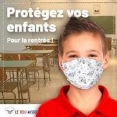 La rentrée des classes approche à grands pas ! 📓  Cette année, protégez vos enfants à l'école grâce à nos masques en tissu aux motifs originaux, fabriqués en France. 😷  Licornes, dragons, fleurs ou encore flamants roses, il y en a pour tous les goûts ! 🦄  Commandez dès maintenant les masques qui garantiront la santé de vos enfants 👉 https://www.lebeaumasque.fr/15-masques-enfants  #Masques #MasquesTissu #Afnor #ProtectionEnfants #MadeInFrance #Rentrée