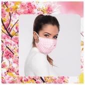 Après le bleu, le rose🌷 Notre #masque #vichy existe aussi en rose et blanc, portez la #fraîcheur !  ➡️ www.lebeaumasque.fr 🌸la livraison est gratuite 🌸 5 masques pour le prix de 4  🏆Nos beaux masques répondent à toutes les exigences gouvernementales !  #masques #tissu #categorie1 #protection #UNS1 #afnor #motifs