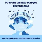 Nos masques sont lavables à 60° et réutilisables 50 fois, en plus d'être beaux ! 🌍  Alors pourquoi ne pas allier l'utile pour l'environnement, à l'agréable pour vous ? 🥰  Toute notre collection de masques en tissu est ici ↙️ www.lebeaumasque.fr  #masque #tissu #textile #réutilisable #environnement #protection #lavable