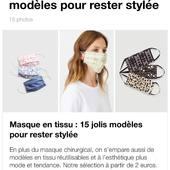 Merci @femme_actuelle pour cet article et cette sélection de beaux masques paru sur votre site🤍 Être lookée pour la rentrée➡️ https://photo.femmeactuelle.fr/masque-en-tissu-15-jolis-modeles-pour-rester-stylee-42621 . . . #femmeactuelle #lebeaumasque #masque #protection #protectionwithstyle #respectdesnormessanitaires #masqueentissu #madeinfrance #marquefrancaise