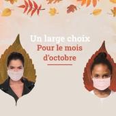 C'est l'automne chez Le Beau Masque ! 🍂 C'est l'occasion de remettre un peu de couleurs dans votre armoire.  Profitez de notre large sélection de masques pour être assorti en toute circonstance !  Que vous soyez adepte des fleurs ou des carreaux, nous avons ce qu'il vous faut ! 🌸  Découvrez nos modèles uniques et made in France juste ici 👉  https://www.lebeaumasque.fr/  #masque #tissu #categorie1 #protection #madeinfrance #afnor #accessoire #automne